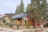 JASON OFFUTT - An example of a net-zero energy home.