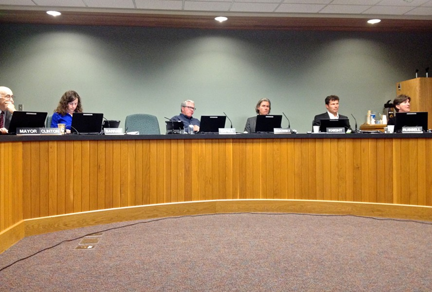 City Council members make their thinking faces. - ERIN ROOK