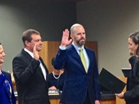 City Council Swears in New Members, Elects Jim Clinton and Sally Russell as Mayor and Pro Tem