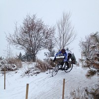 This is What the Cyclocross Course Looks Like Right Now