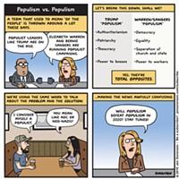 Populism vs. Populism