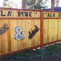 A La Pine Food Cart Lot