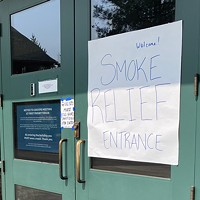 Smoke Shelters Highlight a Need for a Low-Barrier Winter Warming Shelter for Bend