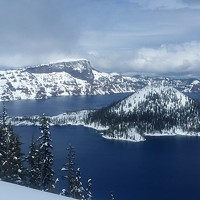 Exploring Crater Lake's Winter Wonderland