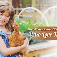 Central Oregonians and the Chickens Who Love Them