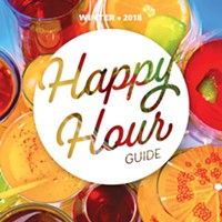 Happy Hour Guide Winter 2018