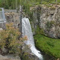 Tumalo Overlook Platform Temporarily Closed