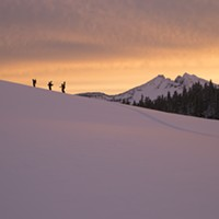 Tonight! The First Oregon-only Backcountry Snowboarding Film