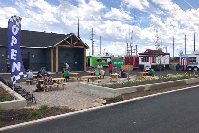 General Duffy's Waterhole offers an eclectic range of food and drink under wide-open skies. - LISA SIPE