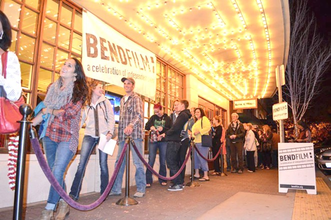 Scenes from BendFilm Festival 2015. - SUBMITTED