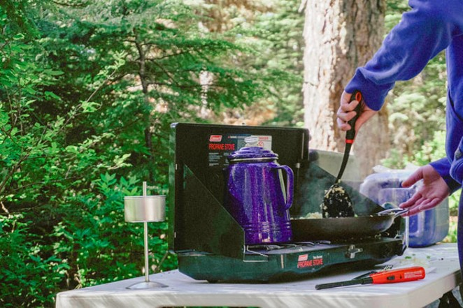 Using a camp stove isn't just for scrambled eggs or boiling water. You can make delicious Italian food, too. - NATHAN SHIPPS / UNSPLASH