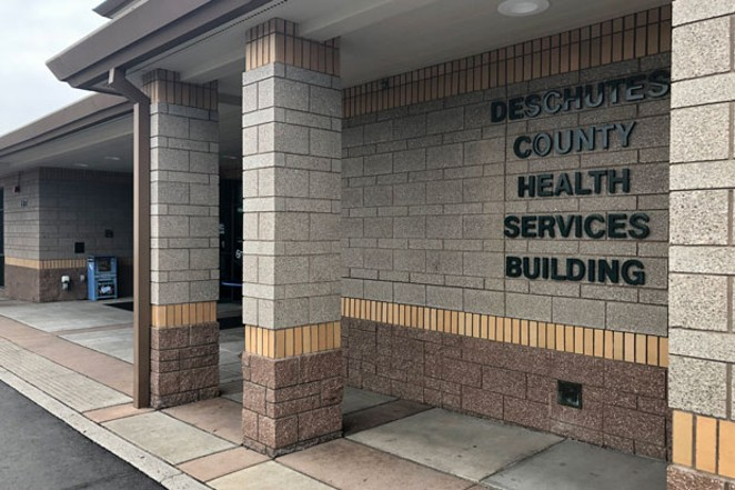The Deschutes County Health Services main building had carbon monoxide levels that required testing and may need a new heating system. - CHRIS MILLER