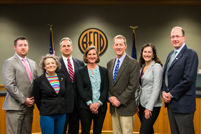 Members of the Bend City Council. - CITY OF BEND