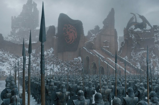Once the clouds of war disperse, life in Westeros is same old, same old. - COURTESY OF HBO