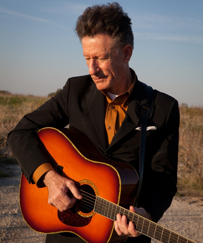 Following his tour, Lyle Lovett heads back to the studio to produce his first new album in seven years. - MICHAEL WILSON