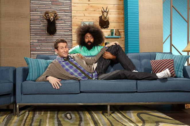 """Scott and Reggie (of """"Comedy Bang! Bang!""""), in this specific photo, are my spirit animals. - COURTESY OF COMEDY CENTRAL"""