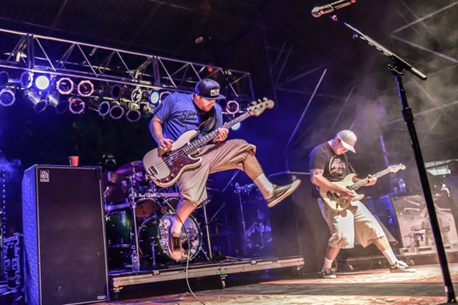 Slightly Stoopid is currently on tour with Tribal Seeds, Matisyahu and HIRIE. - SUBMITTED