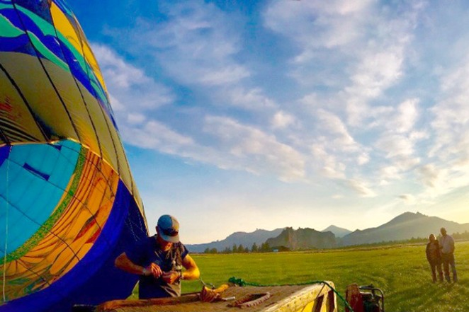 Darren Kling, a longtime balloon pilot, enjoys the camaraderie between balloonists at Balloons Over Bend and other events. - SUBMITTED