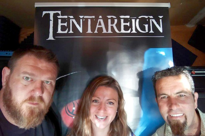 Tentareign currently has a fourth record in the can and fifth deep in the works. - SUBMITTED