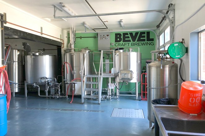 Bevel Craft Brewing is one of Bend's newer breweries, which opened this past spring. - CHRIS MILLER