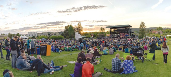 Don't miss the Avett Brothers & Lake Street Dive show at the Les Schwab Amphitheater, August 15. - COURTESY OLD MILL DISTRICT