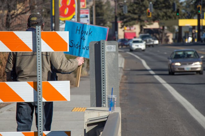 Bend residents and neighborhood associations can propose small street projects that improve local intersections, sidewalks or safety as part of a new program. - KEELY DAMARA