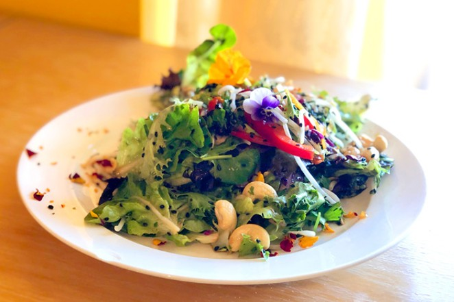 Thai salad from The Garden Cafe & Ora Juice Co. - LISA SIPE