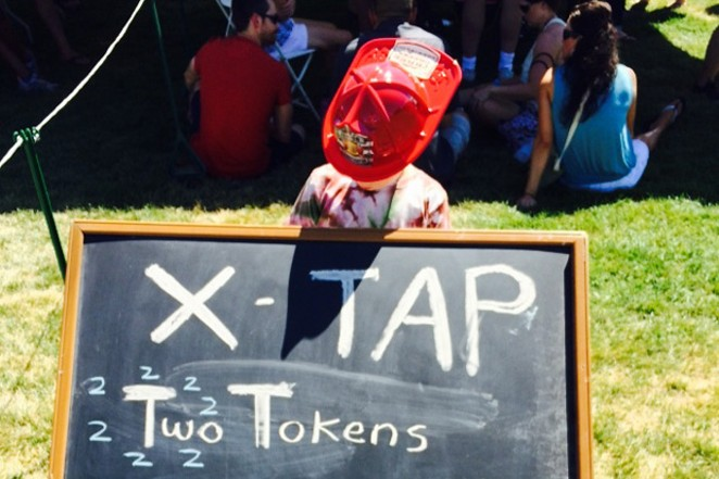 Kids are allowed at Bend Brewfest until 5 pm every day. - SUBMITTED