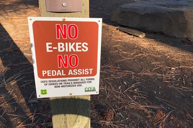 E-Bikes on Trails: Expect Confusion Ahead