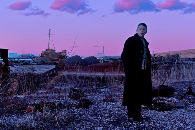 "Ethan Hawke in ""First Reformed."" - PHOTO COURTESY OF WARNER"