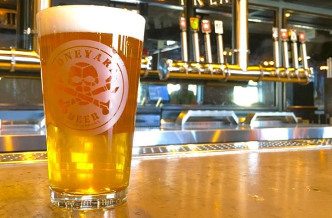 Enjoying fresh hop season with a Feels Like the Fresh Time at Boneyard Pub. - DARRIS HURST