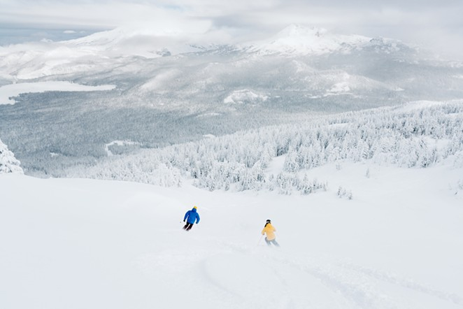 Mt. Bachelor is a place like no other come winter. - ADAM MCKIBBEN/VISIT BEND