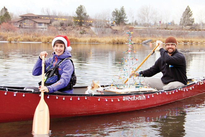 Join the Paddle Parade Dec. 13 at Tumalo Creek Kayak & Canoe. - SUBMITTED
