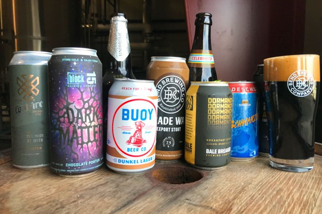 """""""Dark Beers,"""" as shown here, run a gamut of different characteristics. - ZACH BECKWITH"""