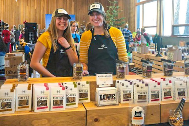 The Locavore Holiday Gift Faire offers local food items as well as hand-made and locally created items. - AMANDA LONG