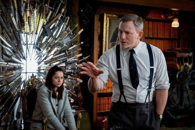 That is seriously a lot of knives to have out. People should be careful around that. - COURTESY OF LIONSGATE