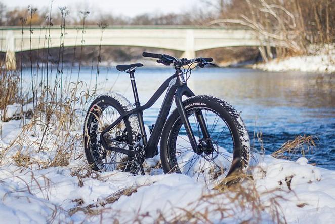 Who said cycling is a warm-weather sport?! - WIKIMEDIA, TIM REDDINGTON