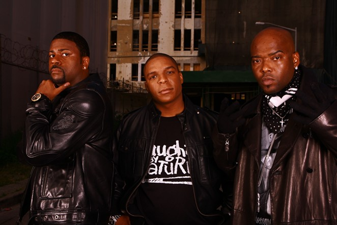In 1996, Naughty By Nature won the award for Best Rap Album. - COURTESY UNIVERSAL ATTRACTIONS AGENCY