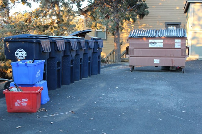 Bend Garbage & Recycling picks up wrapping paper, cardboard boxes and holiday cards and brings them to the local recycling center. - LAUREL BRAUNS