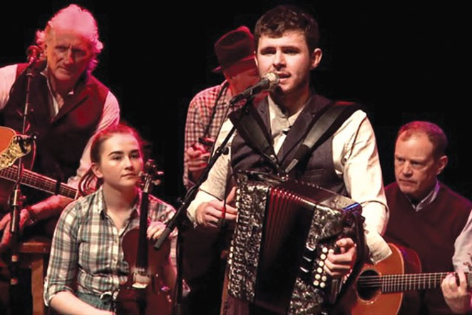 Irish Rambling House performs at the Tower Mar. 16. - COURTESY OF THE TOWER THEATRE