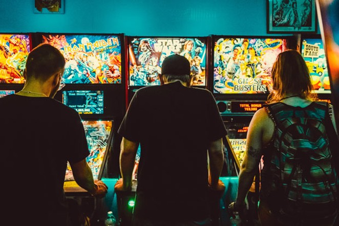 Let's not take Bend's pinball options for granted... seeing as pinball was temporarily banned 