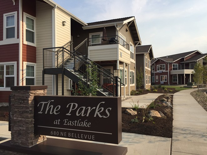 Housing Works is the local housing authority for Deschutes, Crook and Jefferson counties. It built The Parks at Eastlake in 2015 on the east side of Bend. - HOUSING WORKS