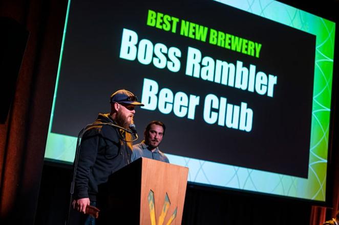 Boss Rambler took home Best New Brewery. - SAM GEHRKE PHOTOGRAPHY