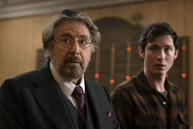 "Al Pacino and Logan Lerman team up to track down Nazis in Amazon's ""Hunters."" - COURTESY AMAZON STUDIOS"