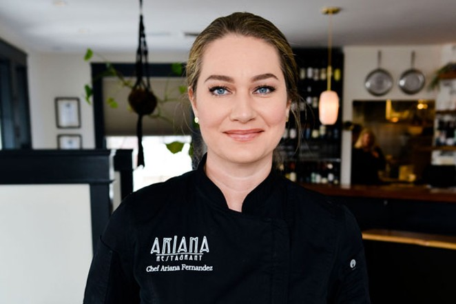 Chef Ariana Fernandez, Owner at Ariana Restaurant, Bend - SUBMITTED