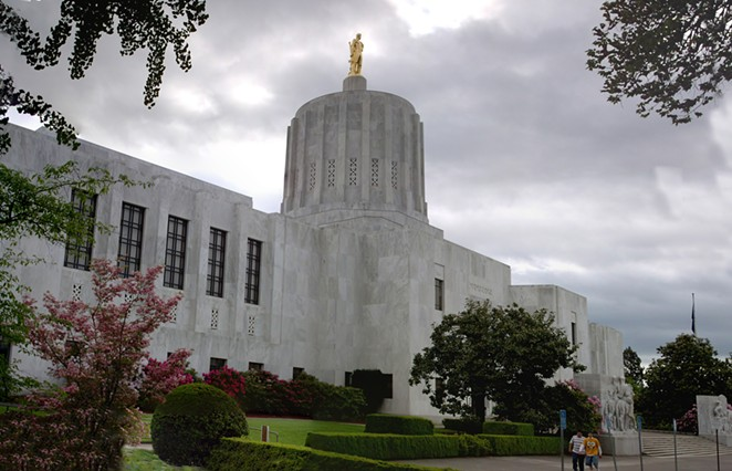 Twelve members of the Oregon State Legislature will meet online next week to ramp up the State's efforts towards slowing the spread of the coronavirus. - WIKIMEDIA