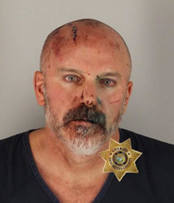 Mastalir's booking photo from the Deschutes County Adult Jail. He was not listed among current inmates as of Sunday morning. - DESCHUTES COUNTY ADULT JAIL