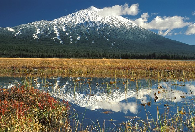 Sparks Lake, a popular camping area on the Cascade Lakes Highway in the Deschutes National Forest. Forest service officials have not yet opened the Cascade Lakes Highway this year, which closes each winter. - U.S. FOREST SERVICE, WIKIMEDIA