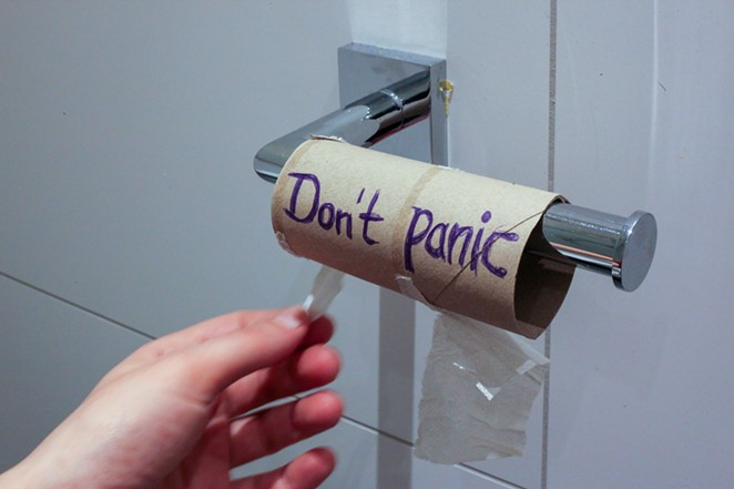 Out of toilet paper? Don't panic. It's very likely this awesome Bend community will let you get... a roll, or four, but no more. - PIXABAY