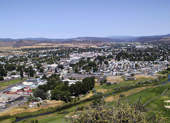 Prineville, Oregon—the county seat of Crook County. - KRIS ARNOLD, WIKIMEDIA COMMONS